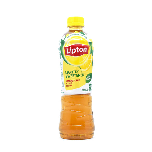 Lipton Ice Tea Lightly Sweetened Citrus 500ml
