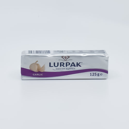 Lurpak - Garlic Danish Block Butter 125g - Bel & Brio Shop Online | Supermarket , Bottle Shop , Restaurant Deliveries