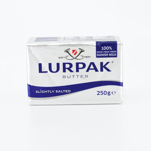 Lurpak - Salted Block Butter 250g - Bel & Brio Shop Online | Supermarket , Bottle Shop , Restaurant Deliveries