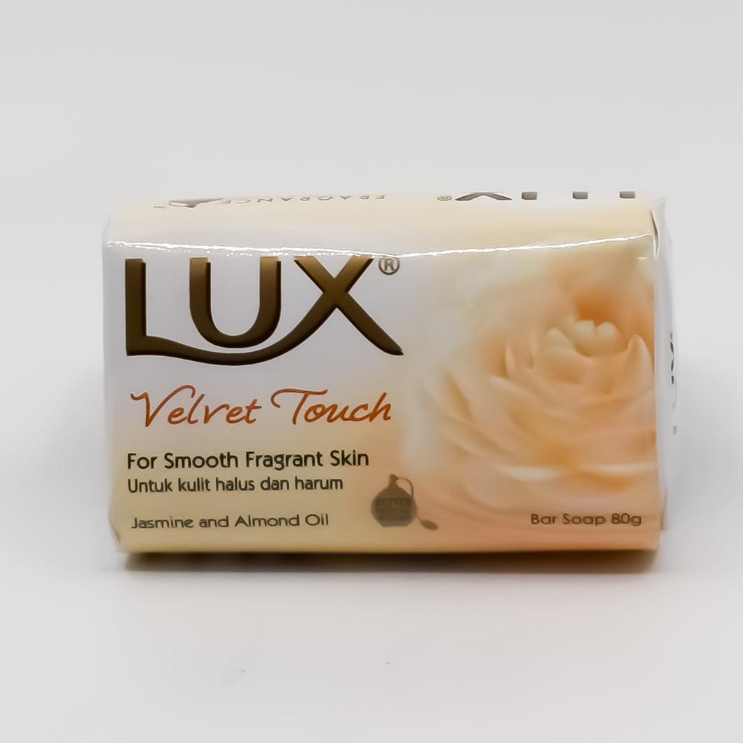 Lux Velvet Touch Bar Soap 80g?•?ä - Bel & Brio Shop Online | Supermarket , Bottle Shop , Restaurant Deliveries