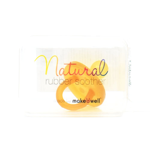 Make U Well Natural Rubber Soother - Orthodontic Large Soother