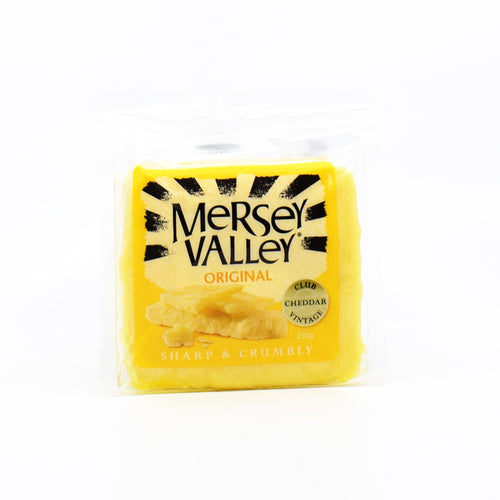 Mersey Valley - Original Cheddar 235g - Bel & Brio Shop Online | Supermarket , Bottle Shop , Restaurant Deliveries