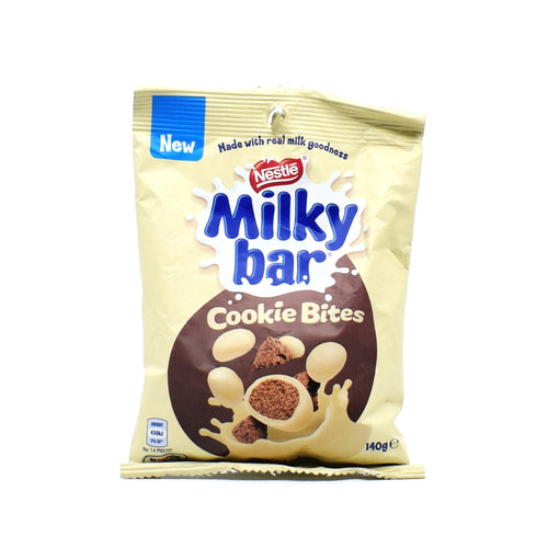 Milkybar Cookie Bites 140g - Bel & Brio Shop Online | Supermarket , Bottle Shop , Restaurant Deliveries