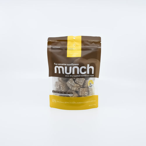 Munch - Flax Sesame Sunflower Snack 140g - Bel & Brio Shop Online | Supermarket , Bottle Shop , Restaurant Deliveries