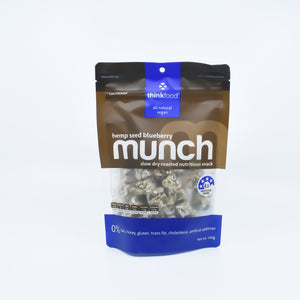 Munch - Hemp Seed Blueberry 140g - Bel & Brio Shop Online | Supermarket , Bottle Shop , Restaurant Deliveries