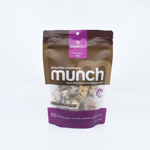 Munch - Pistachio Cranberry 140g - Bel & Brio Shop Online | Supermarket , Bottle Shop , Restaurant Deliveries