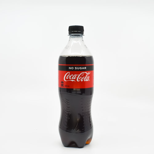 Coca Cola No Sugar 600ml - Bel & Brio Shop Online | Supermarket , Bottle Shop , Restaurant Deliveries