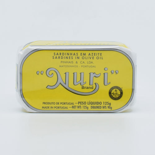Nuri - Sardines In Olive Oil 125g - Bel & Brio Shop Online | Supermarket , Bottle Shop , Restaurant Deliveries