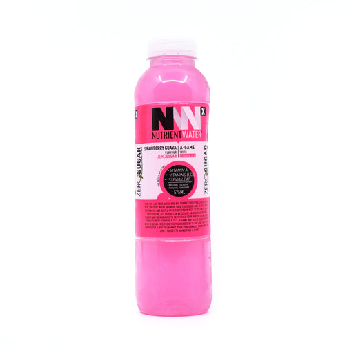 Nutrient Water Strawberry Guava Zero Sugar 575ml