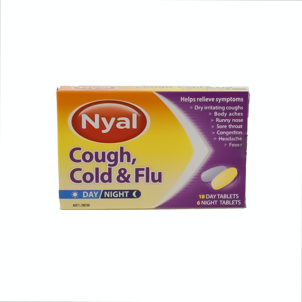 Nyal Cough, Cold & Flu - Day/Night