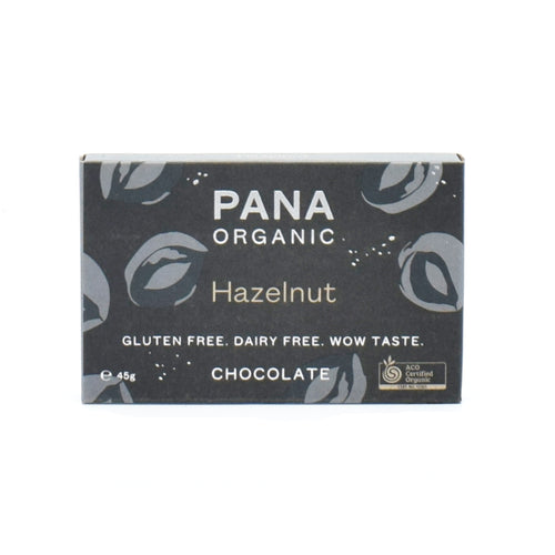 Pana Organic - Hazelnut Chocolate 45g