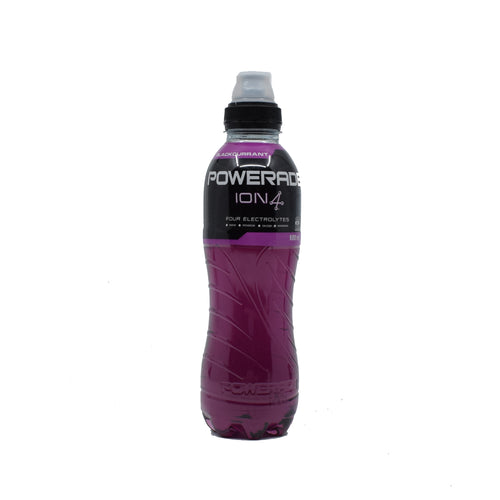 Powerade Ion4 (Blackcurrant) 600ml