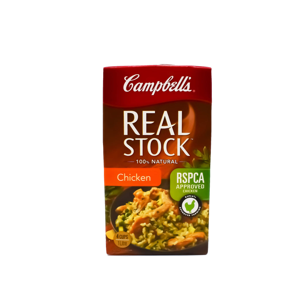 Campbells - Real Stock Chicken 100% Natural 1L