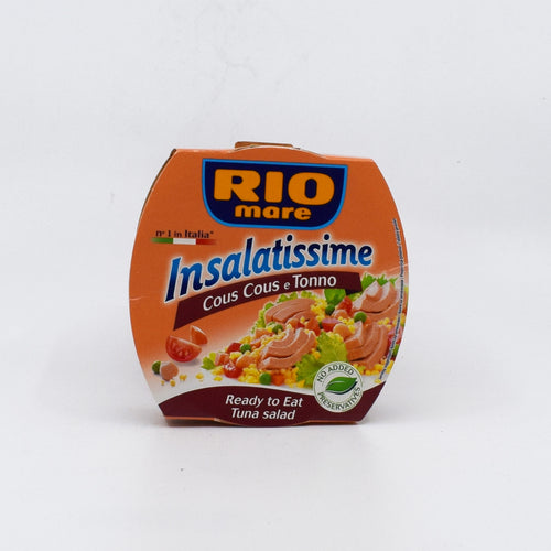 Rio Mare - Tuna Salad Cous Cous e Tonno 160g - Bel & Brio Shop Online | Supermarket , Bottle Shop , Restaurant Deliveries