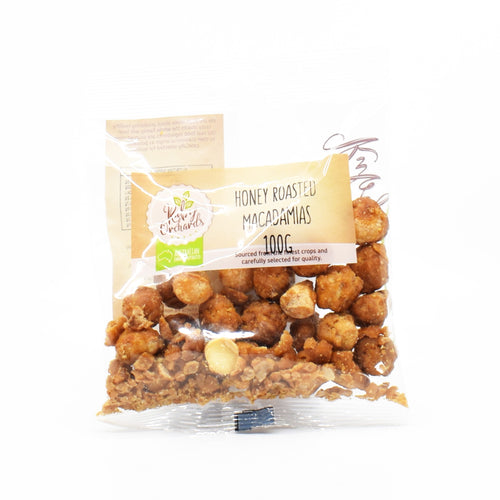 Ruby Orchards - Honey Roasted Macadamias 100g