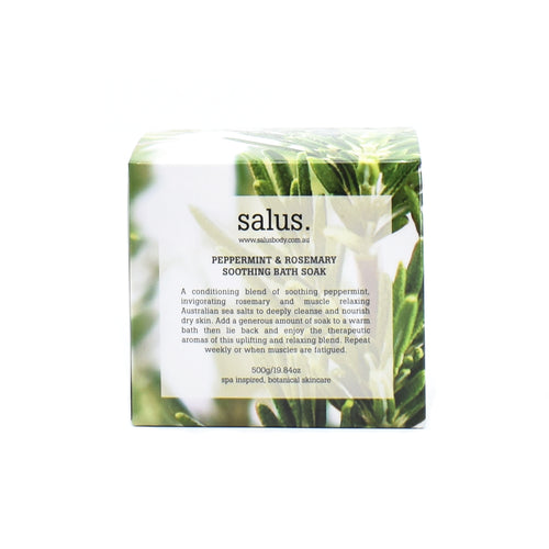 Salus - Bath Soak (Peppermint & Rosemary) 500g