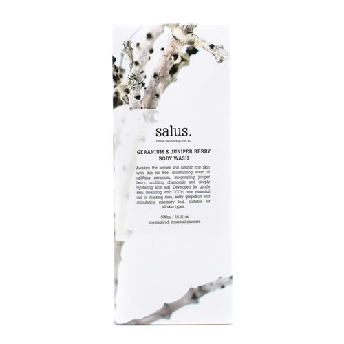 Salus - Body Wash (Geranium & Juniper Berry Body Wash) 500ml
