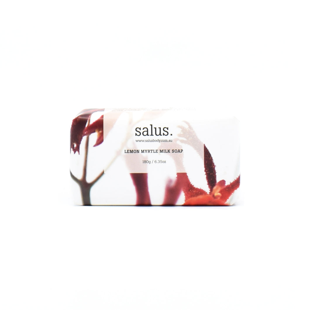 Salus - Lemon Myrtle Milk Soap 180g