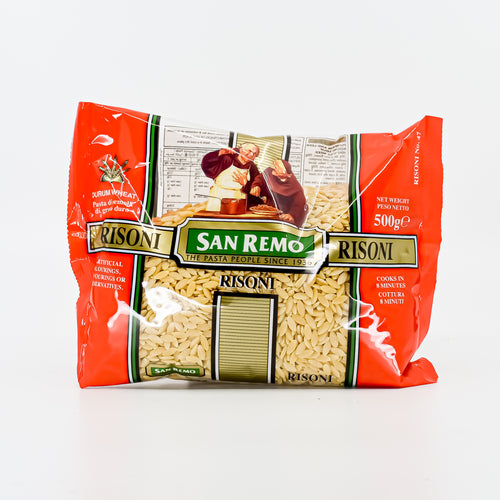 San Remo - Risoni 500g - Bel & Brio Shop Online | Supermarket , Bottle Shop , Restaurant Deliveries