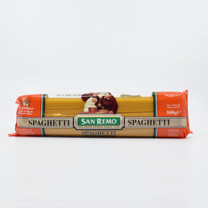 San Remo - Spaghetti 500g - Bel & Brio Shop Online | Supermarket , Bottle Shop , Restaurant Deliveries
