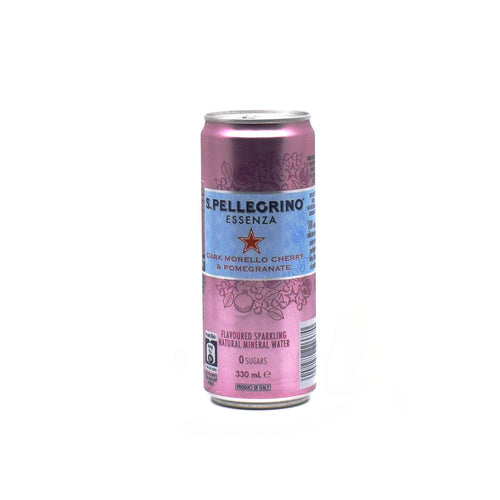 Sanpellegrino - Dark Morello Cherry & Pomegranate 330ml - Bel & Brio Shop Online | Supermarket , Bottle Shop , Restaurant Deliveries