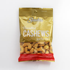 Santos - Unsalted Cashews 100g - Bel & Brio Shop Online | Supermarket , Bottle Shop , Restaurant Deliveries