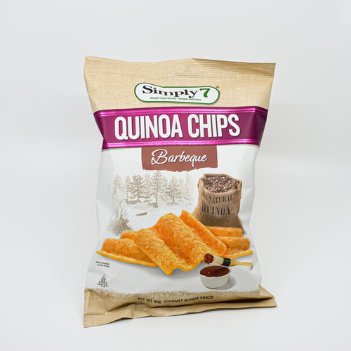 Simply 7 - Quinoa Chips Barbeque 99g - Bel & Brio Shop Online | Supermarket , Bottle Shop , Restaurant Deliveries