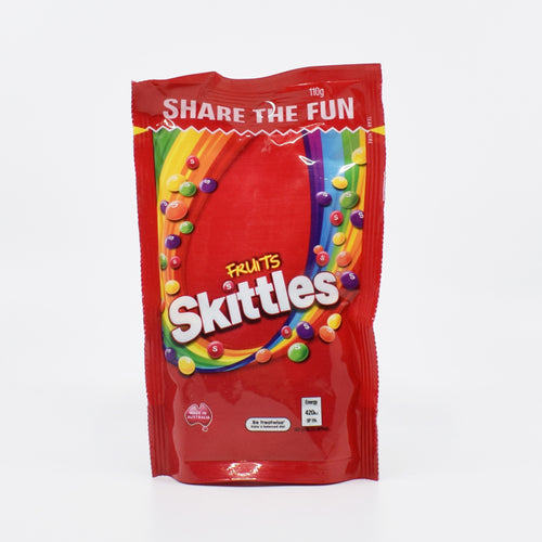 Skittles Fruits 110g - Bel & Brio Shop Online | Supermarket , Bottle Shop , Restaurant Deliveries