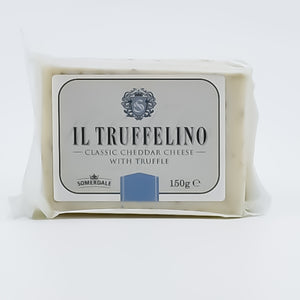 Somerdale Il Truffelino - Classic Cheddar Cheese With Truffle 150g - Bel & Brio Shop Online | Supermarket , Bottle Shop , Restaurant Deliveries