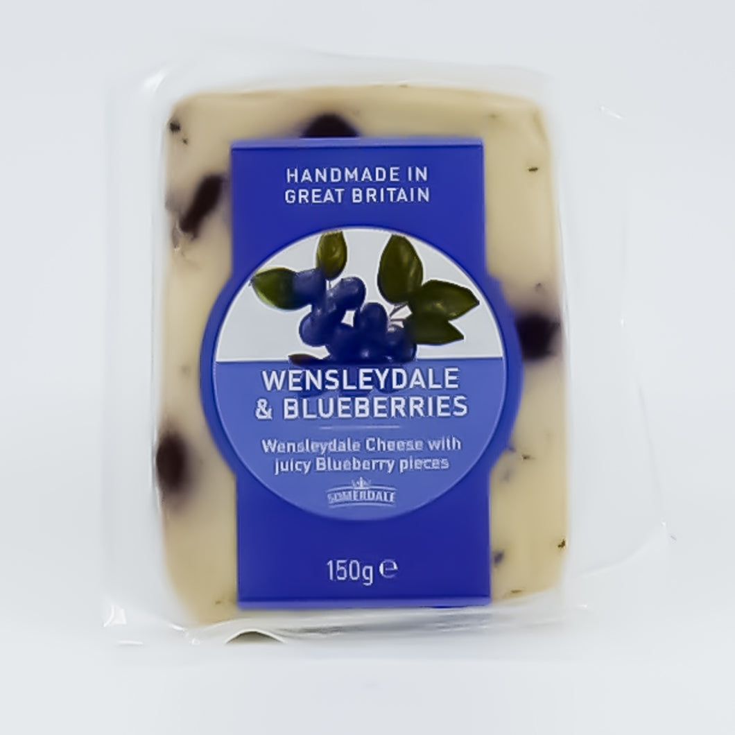 Somerdale - Wensleydale & Blueberries 150g - Bel & Brio Shop Online | Supermarket , Bottle Shop , Restaurant Deliveries