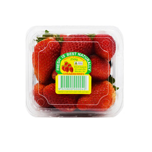 Strawberries Punnet 250g - Bel & Brio Shop Online | Supermarket , Bottle Shop , Restaurant Deliveries