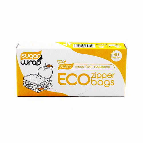 Sugarwrap Eco Zipper Bags 40 Small Bags - Bel & Brio Shop Online | Supermarket , Bottle Shop , Restaurant Deliveries