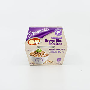 Sun Rice - Steamed Brown Rice & Quinoa 250g - Bel & Brio Shop Online | Supermarket , Bottle Shop , Restaurant Deliveries