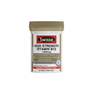 Swisse - High Strength Vitamin B12 (60 Tablets)