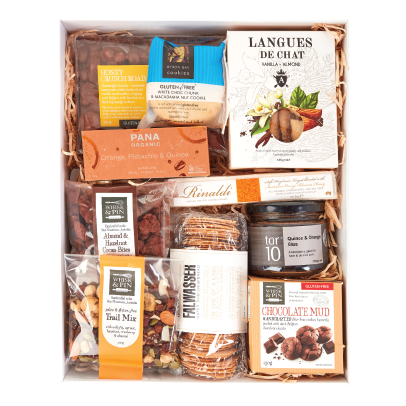 Hamper: THE GLUTEN FREE GOURMAND - Bel & Brio Shop Online | Supermarket , Bottle Shop , Restaurant Deliveries