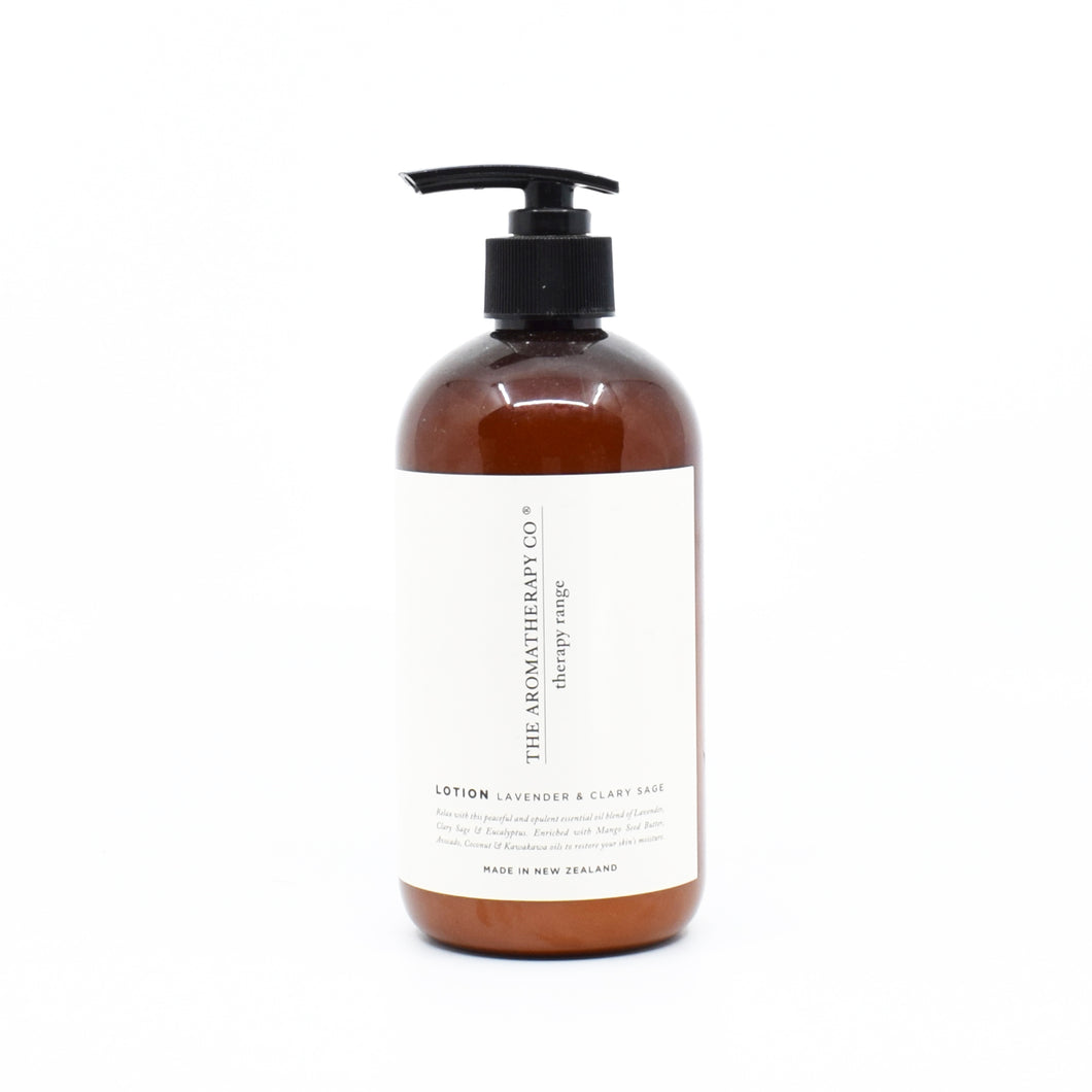 The Aromatherapy Co - Hand Lotion (Lavendar & Clary Sage) 500ml