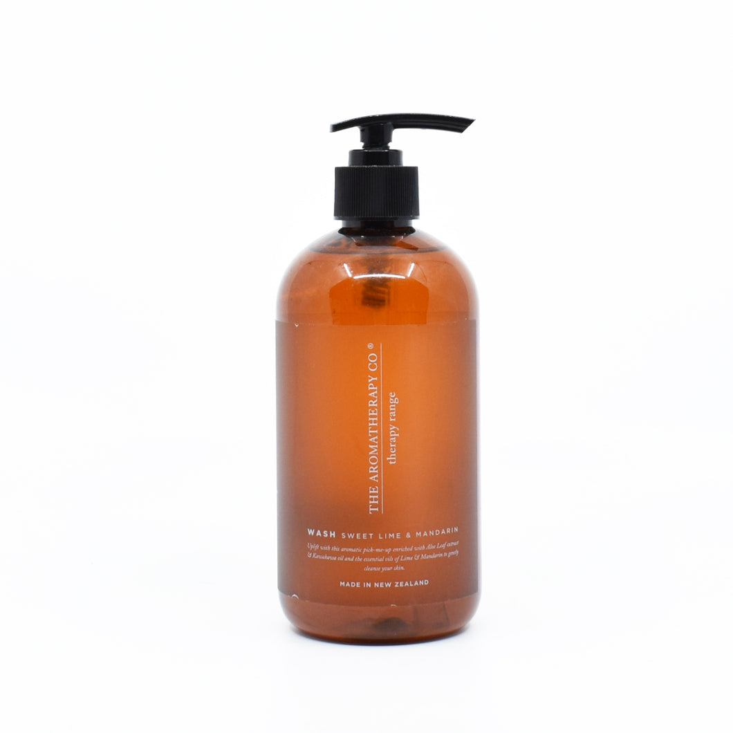 The Aromatherapy Co - Hand Wash (Sweet Lime & Mandarin) 500ml