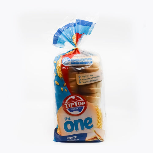 TipTop Bakery - The One White Sandwiches 700g - Bel & Brio Shop Online | Supermarket , Bottle Shop , Restaurant Deliveries