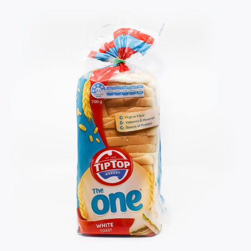 TipTop Bakery - The One White Toast 700g - Bel & Brio Shop Online | Supermarket , Bottle Shop , Restaurant Deliveries