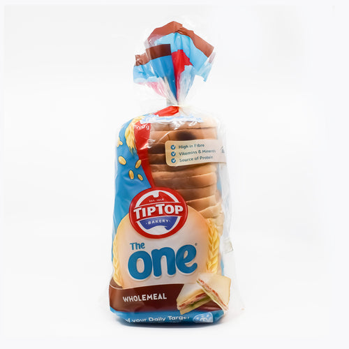 TipTop Bakery - The One Wholemeal Bread 700g - Bel & Brio Shop Online | Supermarket , Bottle Shop , Restaurant Deliveries