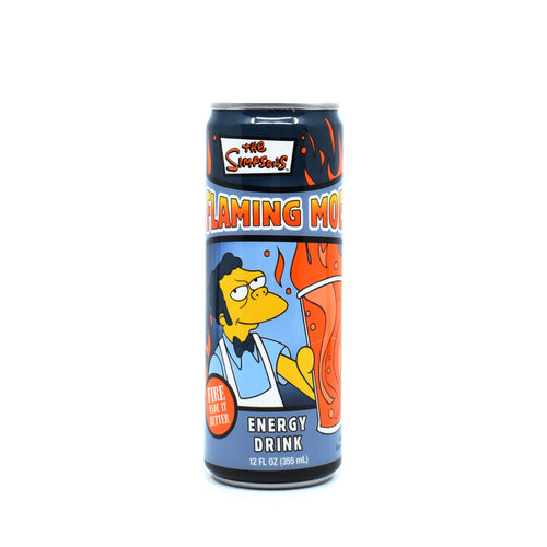 The Simpsons Energy Drink Flaming Moe 355ml
