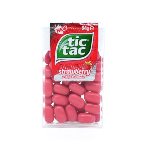 Tic Tac Strawberry 24g