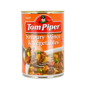 Tom Piper Savoury Mince & Vegetables 400g