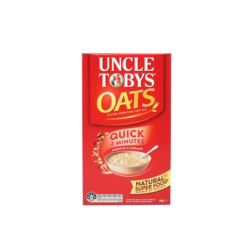 Uncle Tobys Oats 500g