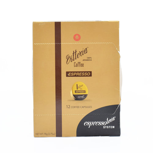 Vittoria Coffee Espresso (12 Coffee Capsules)