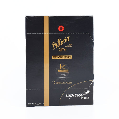 Vittoria Coffee Mountain Grown (12 Coffee Capsules)