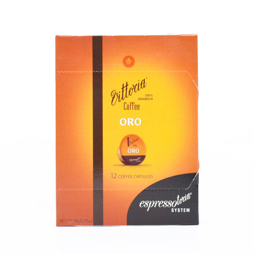 Vittoria Coffee Oro (12 Coffee Capsules)