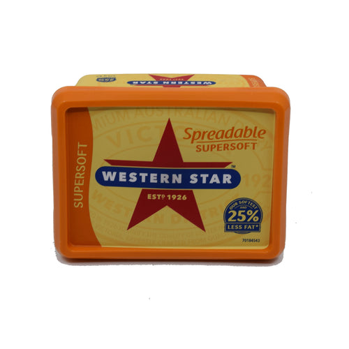 Western Star Spreadable Supersoft 375g - Bel & Brio Shop Online | Supermarket , Bottle Shop , Restaurant Deliveries
