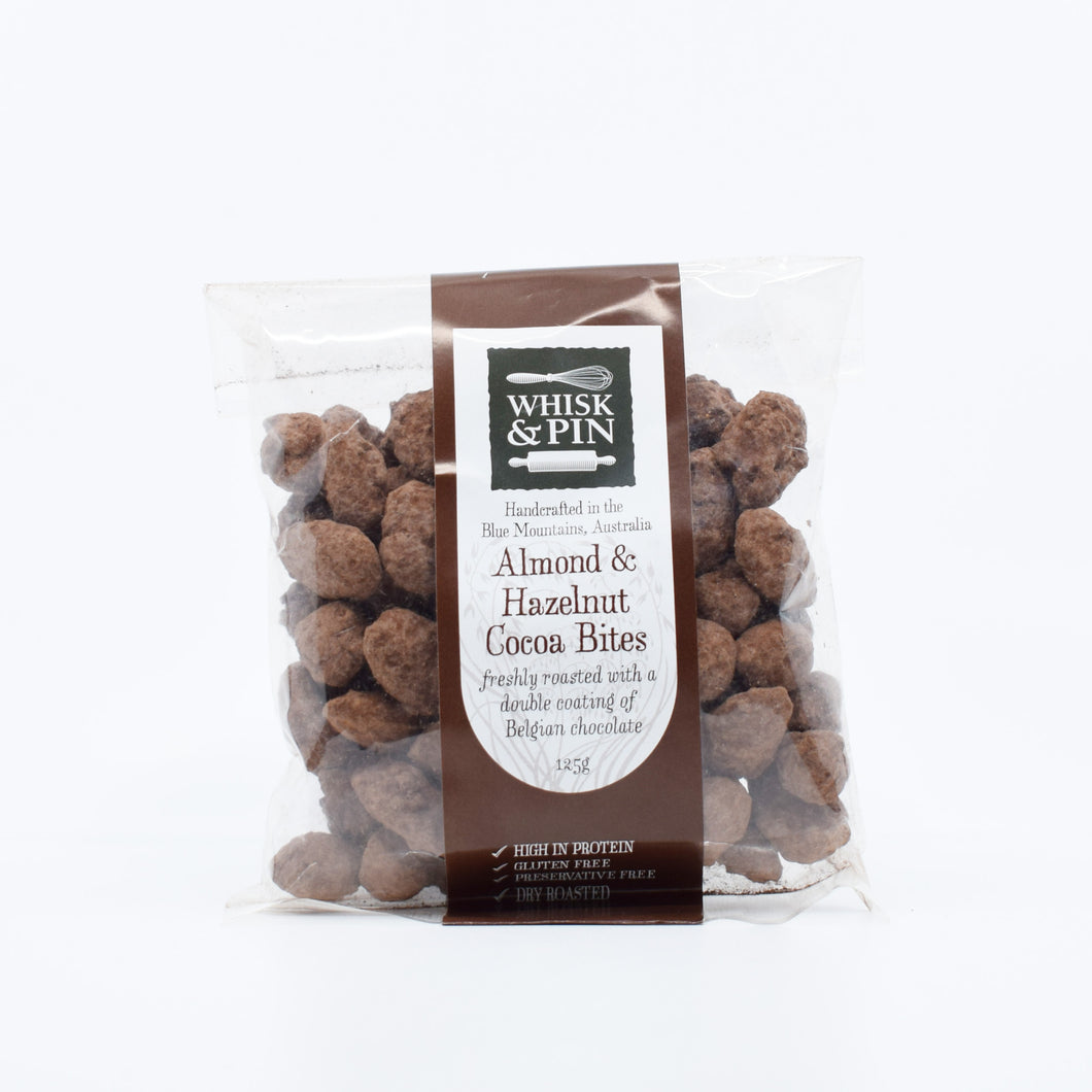 Whisk & Pin Almond & Hazelnut Cocoa Bits 125g