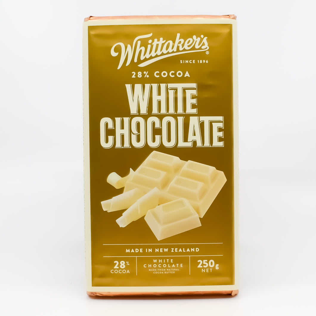 Whittakers - White Chocolate 28% Cacao 250g - Bel & Brio Shop Online | Supermarket , Bottle Shop , Restaurant Deliveries